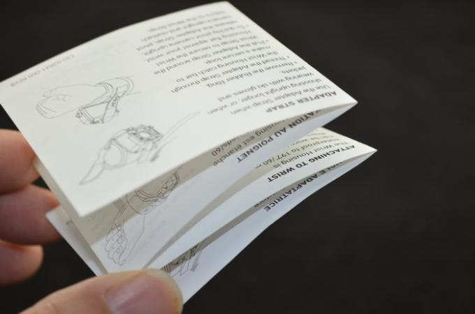 80gsm C2S White Paper Folding Manual Booklet , User Guide Manuals