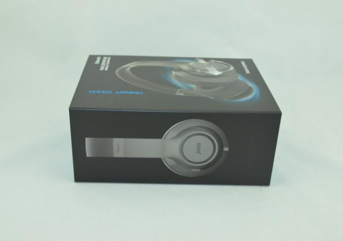 Electronic Accessories Earphone Packaging Boxes Film Lamination Surface