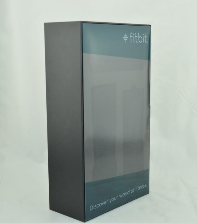 Fitbit Grey Card Offset Printing Rectangular Box EVA And Foam Inside
