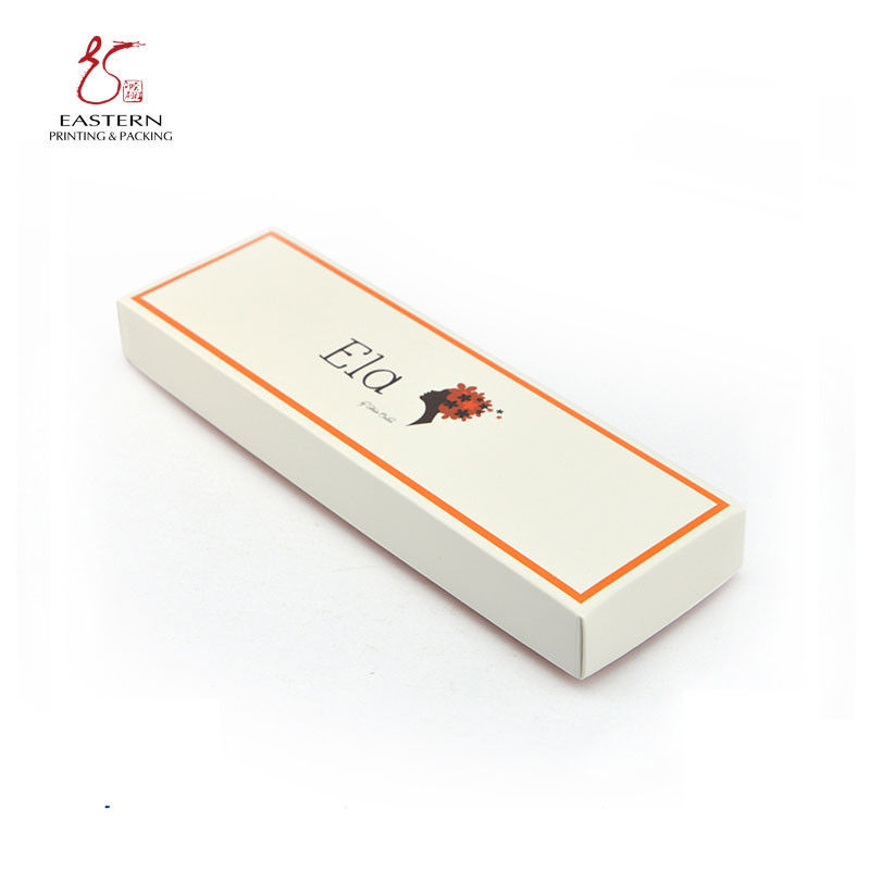 Glossy Lamination Cosmetic Packaging Paper Box  With Lid And Bottom