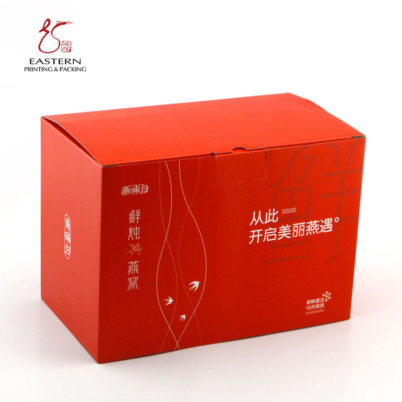 Beautiful Custom Printed Cardboard Boxes , Heavy Duty Cardboard Boxes For Food Packaging